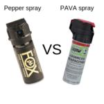 Pepper Spray vs. PAVA Spray