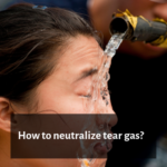 How to Neutralize Tear Gas (Mace, Pepper spray)?